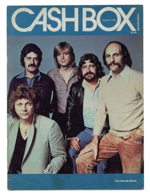 Cash Box music industry magazine August 26 1978 Moody Blues The Who McCartney
